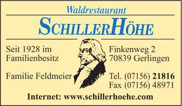Schillerhöhe